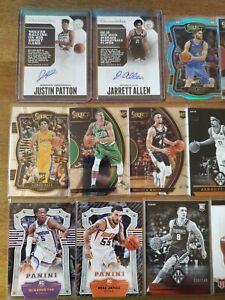 2017-18 Panini NBA RC Lot (42) Select, Auto, #/99- Bam, Ball, Hart, Allen, Bogan