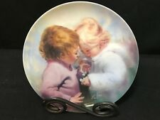 "Childhood Friendship ~ ""Tiny Treasures"" Donald Zolan ~ Collector Plate"