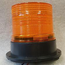 Xenon Multi Flash Amber Orange Beacon Car Van Truck Permanen Mount 12v - 24v