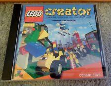 Lego Creator Constructive CD ROM Windows 95/98  (2000) Great condition!