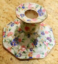 Old Country CHINTZ TAPER Candle Holder Candle GRIMWALDS ROYAL WINTON ENGLAND