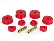 95-99 Eclipse Eagle Talon 4 Cyl Red Motor Mount Inserts FWD AWD Prothane 13-1901