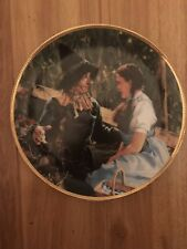 The Wizard of Oz Hamilton Collection Plate: Dorothy Meets the Scarecrow