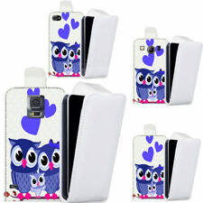 Owl Synthetic Leather Mobile Phone Cases, Covers & Skins for Universal