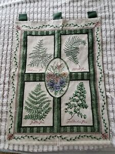 Nature Floral Country Outdoor plants Tapestry Wall Hanging Woven vicky howard