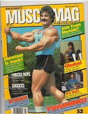 MUSCLEMAG bodybuilding muscle magazine/Mike Mentzer/Gladys Portugues 5-85 #52