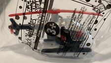 1998 Jack In Box Black Helicopter Vehicle Figure JITB Toy Sealed Chopper MIP