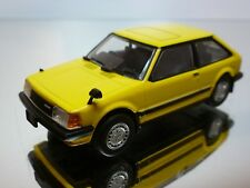SAPI MODELS MAZDA FAMILIA 1500 XG 1982  - YELLOW 1:43  - GOOD CONDITION - 31