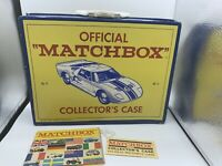 Lesney Matchbox Cars 48 Vintage Matchbox Collectors Case with tag
