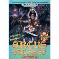 Arcus Odyssey - Sega Genesis Game *CLEAN VG