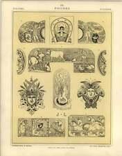 1880 Figuras: vagón del amor la guerra y la paz la agricultura trabajo Sport