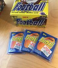 1984 Topps Fooball Wax Pack PSA 10 John Elway Rookie $8365