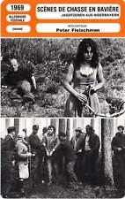 FICHE CINEMA : SCENES DE CHASSE EN BAVIERE - Sperr,Winkler 1969 Hunting Scenes