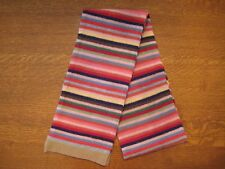 GAP Holiday Crazy Stripe Scarf - 100% Lambswool - RARE - FABULOUS GIFT - NWT