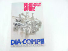 Dia Compe catalog 1990 Brochure Vintage Bike MX901 BRS Nippon 22 pages Compe  B