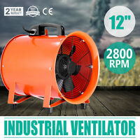 300mm Estrattore Ventilatore Aspiratore Soffiatore Blower Elettrica Centrifugo
