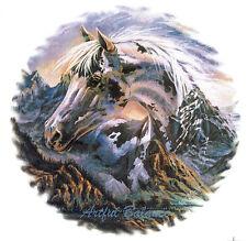 Ceramic Decals Southwest Horse Mountain Scene