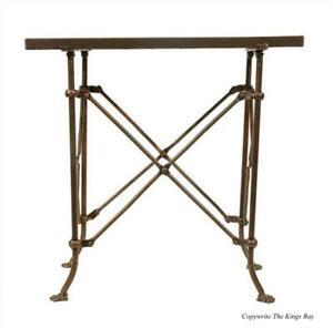Bronze Finish Rectangular Medium Table British East India Trading Antique Style