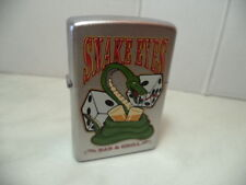 ZIPPO ACCENDINO LIGHTER AMERICAN HARDCORE SNAKE EYES VERY RARE NEW
