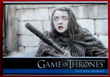 GAME OF THRONES - Season 6 - Card #03 - THE RED WOMAN C - Rittenhouse 2017