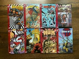 HOUSE OF M #1-8 COMPLETE set of 8