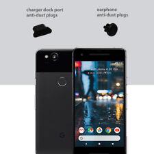 3 x Black Anti Dust Plug charger dock port for lightning For Google Pixel 2