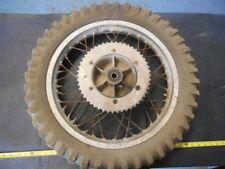 1977 Suzuki RM250B RM 250 B AHRMA Vintage Rear Wheel HUB Rim 18''