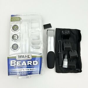 Wahl Groomsman Battery Operated Beard Trimming Kit Beard Mustache Trimmer USED