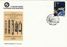 Poland FDC 1995 Space Shuttle Atlantis Docking with Mir!