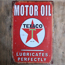 "Metal Sign Tin Poster Garage Shop Vintage Wall Decor Art Plaque ""Motor-Oil"""