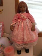 Annette Himstedt Doll Dress And Pantaloons Fits Gitta And Similar Dolls #356 New