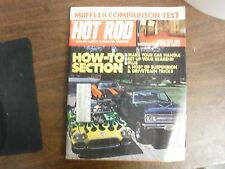 Hot Rod Magazine October 1973 How-To-Section Muffler Test VGEX 122615jhe