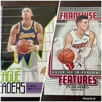 2020-21 Donruss Basketball - Franchise Features & All Time League Leaders - Pick