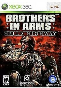 Brothers in Arms: Hell's Highway Xbox 360/One Game Disc Only 63e