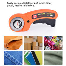 Plastic Rotary Cutter Grip Sewing Fabric Craft Quilting Cutting Tool 45MM Safety