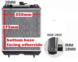 Radiator ForvKubota Mini Excavator Hitachi KX91-3 Excavator375x350mm MadeInJapan