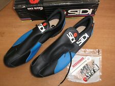 Nos Sidi Cyclocross Shoes #44 Mountain Bike Boots Old School Cleats Quill Pedals