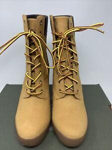 """Timberland // Camdale 6"""" Boots [Wheat Nubuck] (Womens: 8.5)"""