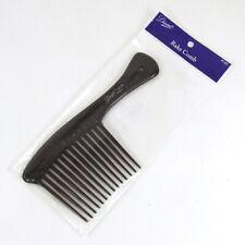 "Diane Rake Comb #140 Black Detangle Hair Pik Pick Professional Wide Tooth 8 1/2"""