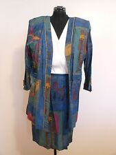Vintage 1980's NORDSTROM CHRISTIE AUSTIN 2 Piece Jacket & Dress Set