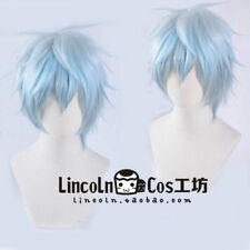 Servamp Servant Vampire Sleepy Ash Mahiru Shirota Cosplay wig Bradient Blue Anim