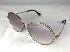 e317511f5c73f New Tom Ford Sunglasses Rania-02 TF564 28Z Shiny Rose Gold Frame