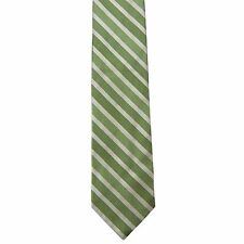 "Merona Men's 100% Silk Striped Neck Tie Green 3 1/4"" x 57 1/2"""