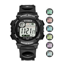 New SYNOKE Multi-Function 30M Waterproof LED Digital Double Action Wrist Watches