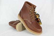 3a934b7515a New Justin Work Men s Jacknife Moc Toe Work Boots 11m Tan Brown WK320