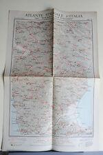 ATLANTE STRADALE D'ITALIA DEL T.C.I - CASTROVILLARI - SIBARI - CON PUBBLICITA'