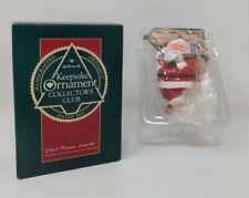 Hallmark Keepsake 1989 Collector's Club Visit From Santa