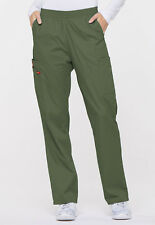 Olive Dickies Scrubs Eds Signature Natural Rise Pull On Pant 86106 Olwz