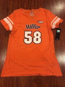 Majestic Women's Von Miller Denver Broncos My Guy Jersey Shirt Large L NFL