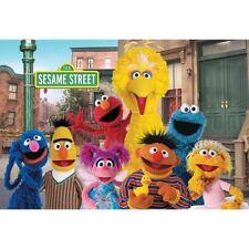 8x6ft Vinyl Sesame Street Elmo World House Photography Backdrop Background
